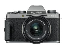 FUJIFILM X-T100 dark silver and XC15-45 with grip