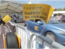 Supporting safety as standard at the London Motor Show