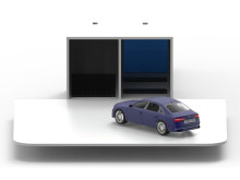 Carocell, ett nytt parkeringsgarage som kan ta fler bilar på ett mindre utrymme.