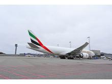 Emirates SkyCargo til Avinor Oslo lufthavn