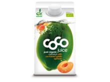 Dr. Martins Coco Juice aprikos økologisk 500 ml