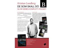 Kristian Lundberg De som skall dö Bladh by Bladh Pocket