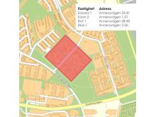 Riksbyggen köper fyra fastigheter på Dalhem med 582 hyreslägenheter