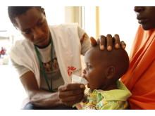 Många barn i delstaten Borno, i nordöstra Nigeria, lider av akut undernäring.