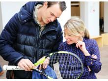 Patrik Wozniacki overdrager Caroline Wozniackis vinderketcher