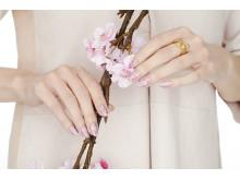 Nails Inc Blossom - Hand Shot