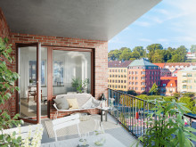 SeaU Helsingborg: balkong mot öster