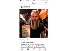 Swedish Barber Expo och World Beard Day i sociala medier