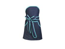 Mini Cupcakeförkläde utan band i nacken för barn 4-9 år.