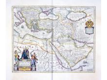 Karta över Osmanska riket
