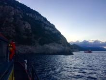 """Gula Båtarna söker längs """"Dödens kust"""""""