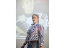 Tina Thörner föreläser, coachar och är mentor. Med appen MindYourPerformance förbättrar hon sig själv och sina team.