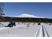 Dalarna Snöskoter Photo Idre Fjäll