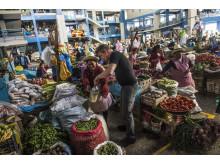 Gordon Ramsay på lokalt marked i Peru