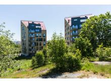 Kyrkbyn flerbostadshus Brf Byabacken - Ett av Göteborgs bästa hus 2013!