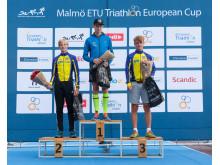 Vinnare Ungdom Danske Invest Triathlon Series 2017