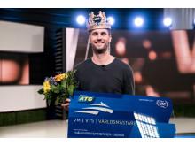 Karl Sandström vinnare av VM i V75 2017.
