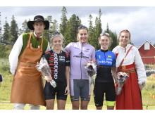 Gunn-Rita Dahle Flesjå vann Cykelvasasprinten 2018