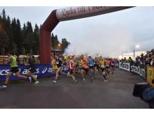 Ultravasan 90 starten i Sälen kl 05.00 2016-08-20