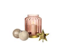 Ljuslykta, guldstjärna, julgranskula