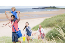 Family beach_Big Days Out