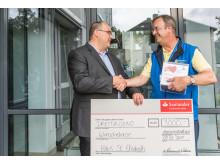 Spendenübergabe in Mettmann