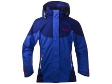 Evje Girl Jacket - Warm Cobalt/Ink Blue/Hot Pink