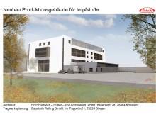 Neubau Impfstoffproduktion in Singen