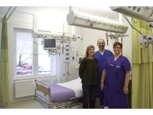 Blir intensivvårdspatienter friskare snabbare i specialinrett rum?