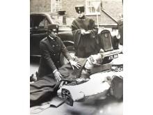 DSC_0087 PC Sislin Fay Allen, 29, at the Met's training centre in Regency Street on 15 Feb 1968
