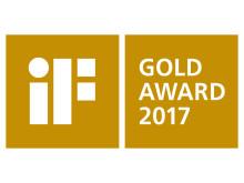 i F Design Award Gold Award logo