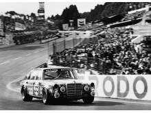 AMG 300 SEL 6.8 til 24-timerløbet i Spa-Francorchamps, 1971.