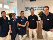Medarbetare på Kvarnholmens vårdcentral
