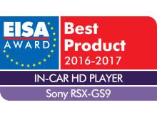 EUROPEAN IN-CAR HD PLAYER 2016-2017 - Sony RSX-GS9