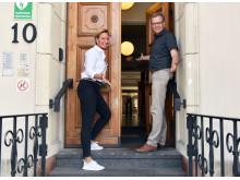 Jenny Andersson och Per-Ola Mattsson