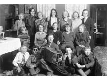 Barnkalas hos familjen Hjelm, 1931