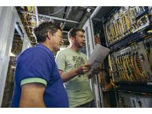 Das geheime Gehirn des Kabelnetzes: Die Server von primacom