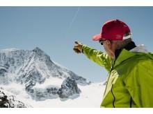 Dédé Anzévui, früher Extrem-Skifahrer, heute ein Freeride- und Skitourenguide & Bergführer