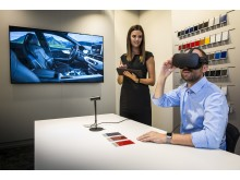 Virtual Reality i bilhallen