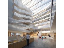 Interiör tillbyggnad Ångströmlaboratoriet, Uppsala
