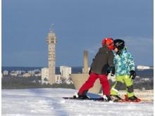 Hammarbybacken - alpin skidåkning mitt i Stockholm