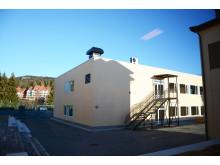 Ny paviljongbygning på Voksen skole i Oslo.