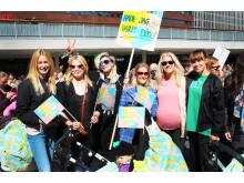 Barnvagnsmarschen 2015