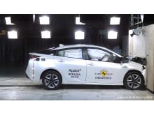NCAP Toyota Prius frontal impact