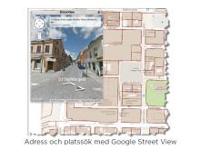 Adress och platssök med Google Street View (GS Viewer)
