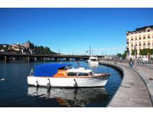 Stockholm och båtar