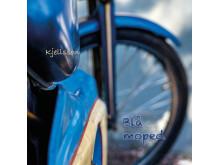 """Omslag """"Blå moped"""" (Christina Kjellsson)"""