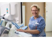 Gynekologen Annika Valentin är ansvarig för endometriosteamet på Danderyds sjukhus.
