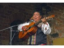 peruanischer Künstler Aldo Castillo