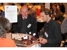 SM i Mathantverk 2011, charkjuryn gästas av ministern Eskil Erlandsson